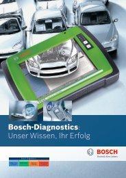 Bosch-Diagnostics: Unser Wissen, Ihr Erfolg - Bosch - Werkstattportal