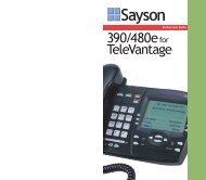 Artisoft - 390/480e for Televantage Pocket User ... - Web Configurator