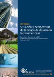 Informe: Situación y perspectivas de la banca de desarrollo ... - Alide