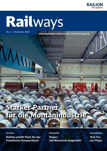 Starker Partner für die Montanindustrie - DB Schenker Rail