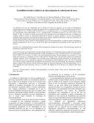 Estabilidad térmica oxidativa de microcápsulas de saborizante de ...