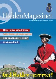 Elsker Halden og festningen Setter Halden på verdenskartet ... - Byline