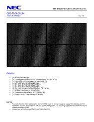 QIG-TMX-55UN - NEC Display Solutions