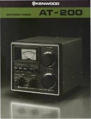 Antenna Tuners - DX Engineering
