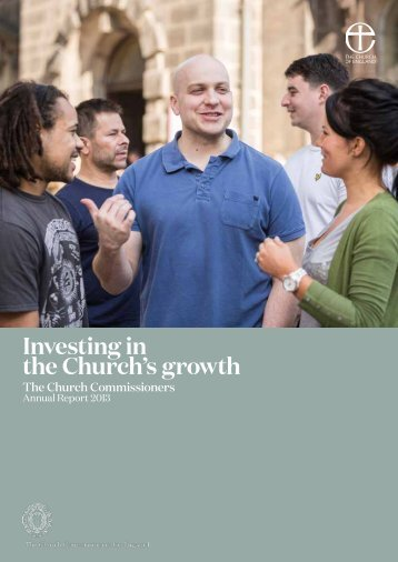 church commissioners annual report 2013