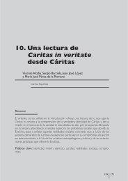 11 - UNA LECTURA DE CARITAS IN VERITATE ... - Cáritas Española