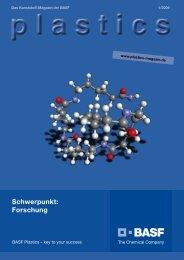 plastics - Das Kunststoff-Magazin der BASF 1/2009