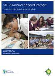 MAYFIELD San Clemente High School (2012) - Catholic Schools ...