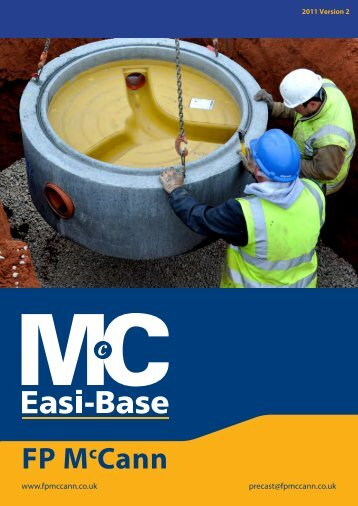Easi Base Brochure - FP McCann Ltd