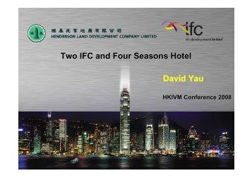 Two IFC and Four Seasons Hotel David Yau - HKIVM