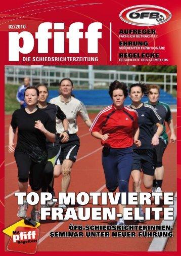 top-motivierte frAuen-elite - Schiri.at