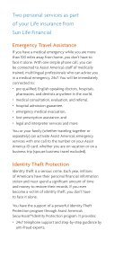 Emergency Travel Assistance and Identity Theft Protection - Page 2