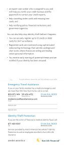 Emergency Travel Assistance and Identity Theft Protection - Page 3