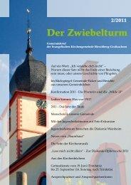 Im Rückspiegel - Evangelische Kirchengemeinde Hirschberg ...