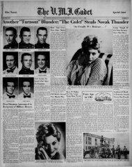 The Cadet. VMI Newspaper. May 21, 1956 - New Page 1 [www2.vmi ...