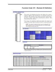 FC 147 – Remote I/O Definition - ABB SolutionsBank