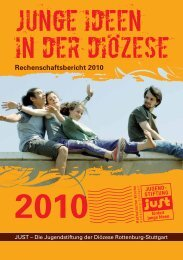 Rechenschaftsbericht 2010 [ pdf | Größe: 1.2 MB ] - Jugendstiftung just