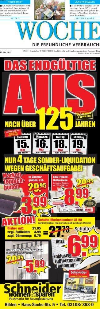 Langenfeld 20-12 - Wochenpost
