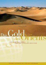 Das Gold - GMK Reisen