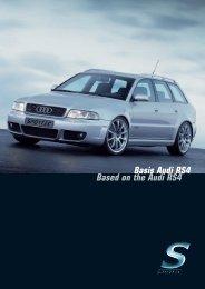 Basis Audi RS4 Based on the Audi RS4 - Sportec