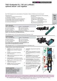 TOX®-Kraftpaket EL / EK mit Luftfeder: optimal steuer- und regelbar ...