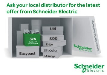 3kA Product promotion - Schneider Electric