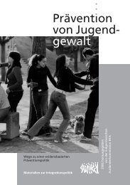 Prävention von Jugendgewalt. Materialien der EKA zur ...