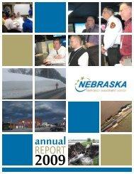 2009 Annual Report - Nebraska Emergency Management Agency ...