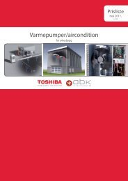 Varmepumper/aircondition - Partnerline AS