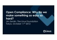 Open Compliance: Why do we make something so easy so hard?