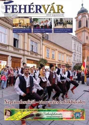 Néptáncfesztivál – táncvarázs és folkbűvölet - Székesfehérvár