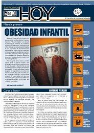 OBESIDAD INFANTIL - Fundación Laboral San Prudencio