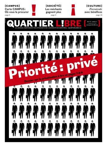ciné-campus - Quartier Libre