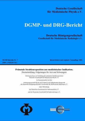 Pränatale Strahlenexposition - AG Physik und Technik in der ...