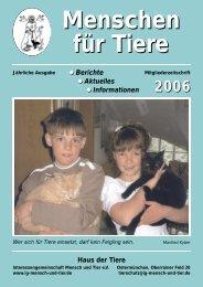 für Heimtiere - Tierheim Ostermünchen