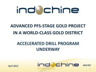 advanced pfs-stage gold project in a world-class ... - gowebcasting