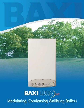 Baxi Luna Brochure - Gagnon Heating & Air Conditioning, Inc.