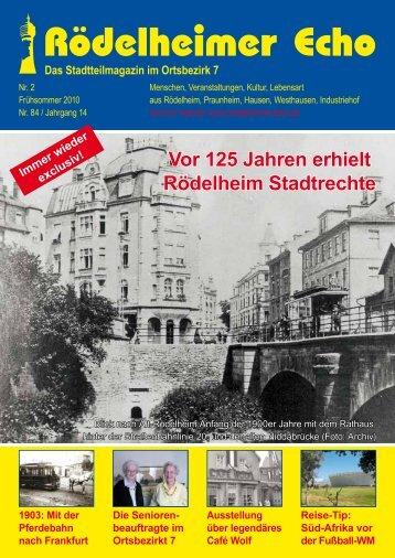 beauftragte im Ortsbezirkt 7 Ausstellung über legendäres Café Wolf ...