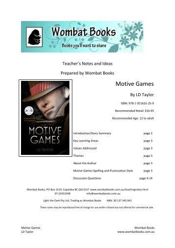 Motive Games - Dennis Jones & Associates