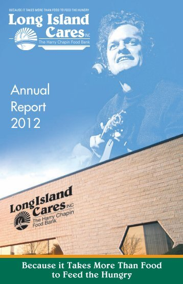 Annual Report 2012 - Long Island Cares