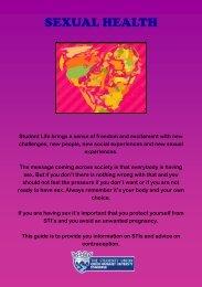 Sexual Health Booklet - Queen Margaret University Students