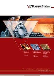 kompletter Katalog (PDF) - Th. Jansen Armaturen GmbH