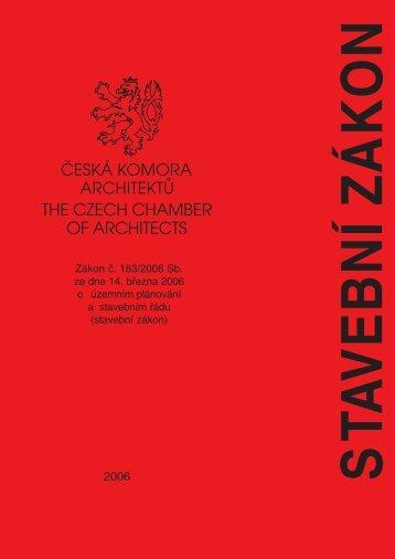 stavební zákon - Česká komora architektů