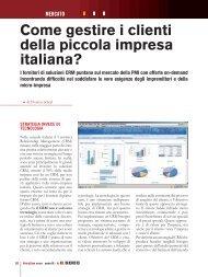 Come gestire i clienti della piccola impresa italiana?