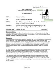 Page 1 of 2 City Council______________ City of Watsonville Public ...