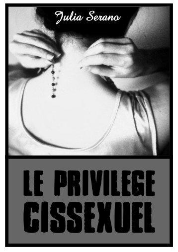 le privilège cissexuel - Infokiosques.net