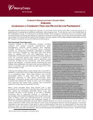 MC Community Mobilization Impact Ex Zimbabwe.pdf - Mercy Corps