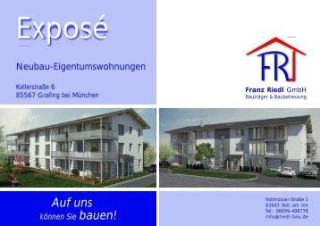 Auf uns - Riedl-Bau GmbH
