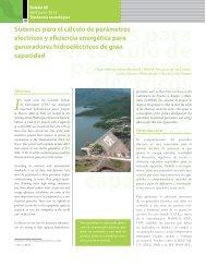 Sistemas para el cálculo de parámetros eléctricos y eficiencia ...