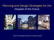 Hospitable - American College of Healthcare Architects